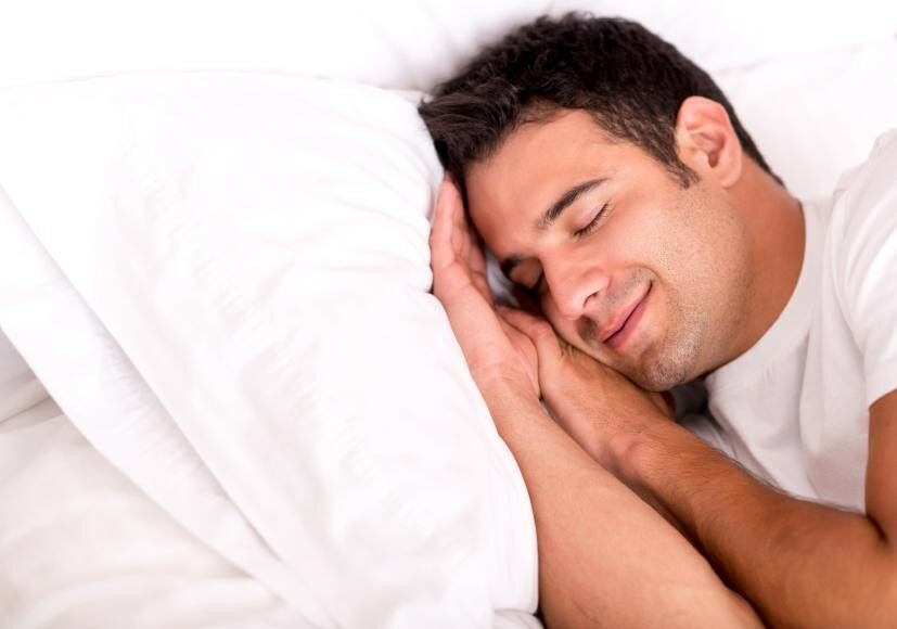 Image result for picture of a person sleeping comfortably